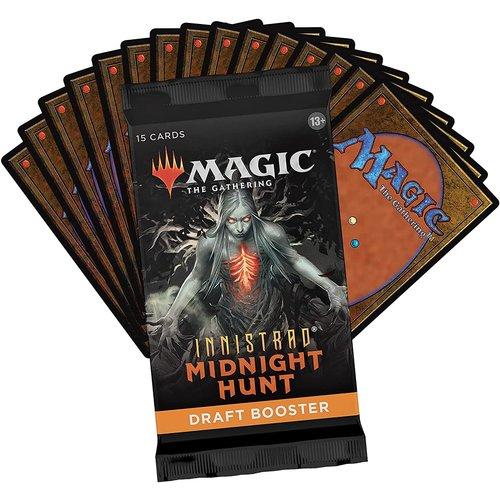 Wizards of the Coast MTG: INNISTRAD - MIDNIGHT HUNT - DRAFT BOOSTER