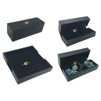 DICE TRAY & DICE BOX -LUXURY FAUX LEATHER