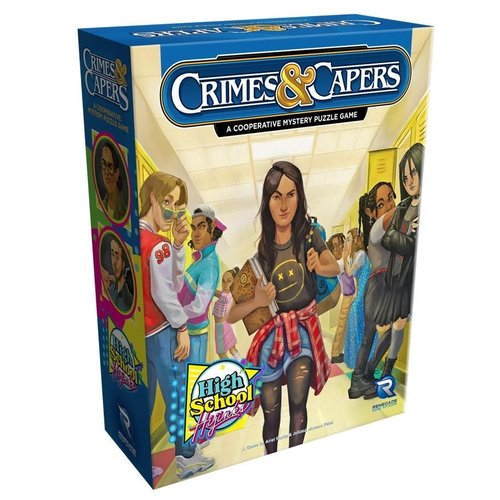 Renegade Games Studios CRIMES & CAPERS: HIGH SCHOOL HIJINKS
