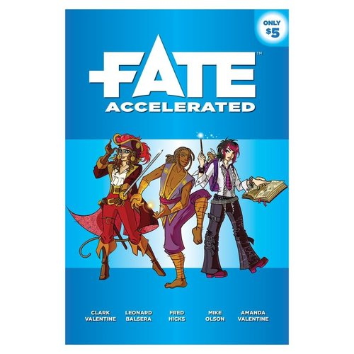 Evil Hat Productions FATE CORE: FATE ACCELERATED
