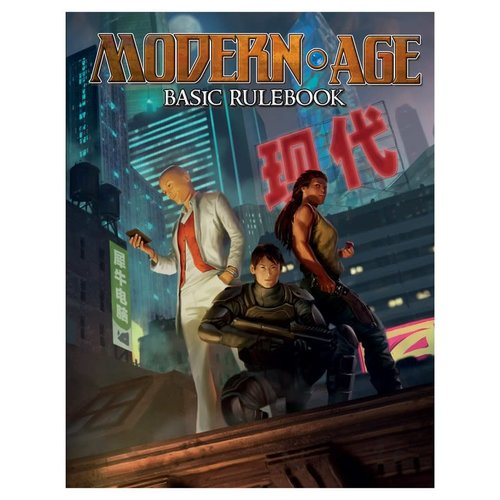 Green Ronin Publishing AGE RPG: MODERN CORE RULEBOOK