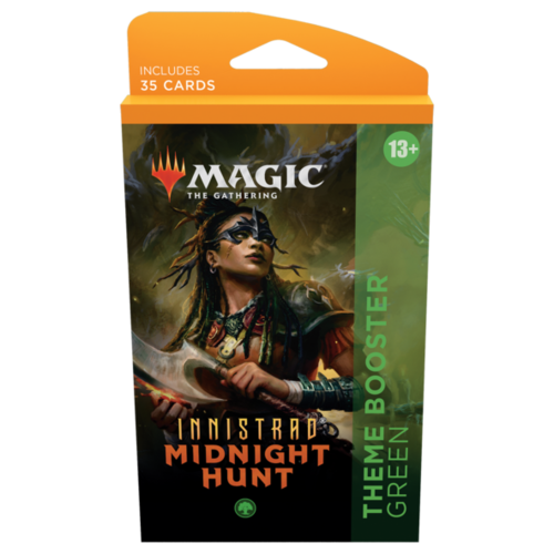 Wizards of the Coast MTG: INNISTRAD - MIDNIGHT HUNT - THEME BOOSTER GREEN