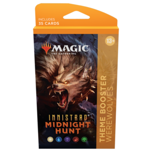 Wizards of the Coast MTG: INNISTRAD - MIDNIGHT HUNT - THEME BOOSTER WEREWOLVES