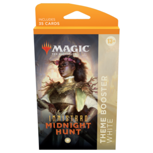 Wizards of the Coast MTG: INNISTRAD - MIDNIGHT HUNT - THEME BOOSTER WHITE