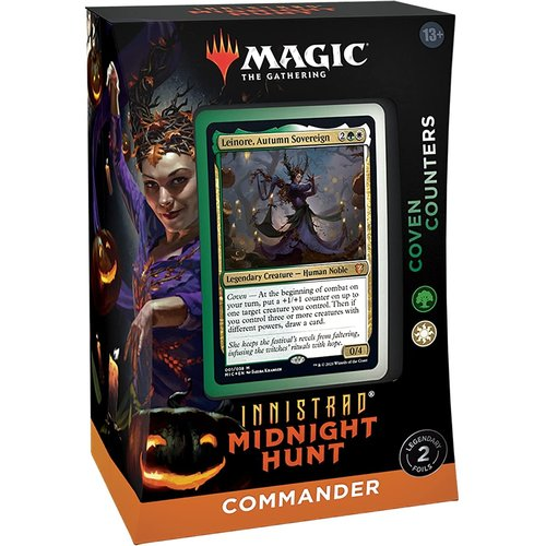 Wizards of the Coast MTG: INNISTRAD - MIDNIGHT HUNT - COMMANDER DECK COVEN COUNTERS