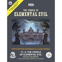 D&D 5E: ORIGINAL ADVENTURES REINCARNATED 6: THE TEMPLE OF ELEMENTAL EVIL
