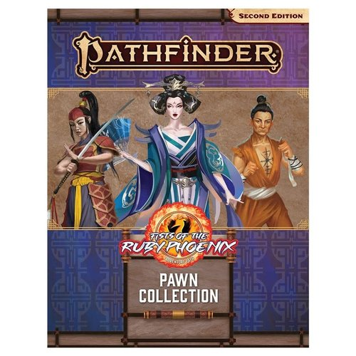 Paizo Publishing PATHFINDER 2ND EDITION: PAWNS - FISTS OF THE RUBY PHEONIX COLLECTION