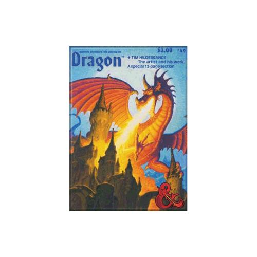 ATA-BOY MAGNET: D&D - DRAGON MAGAZINE #49