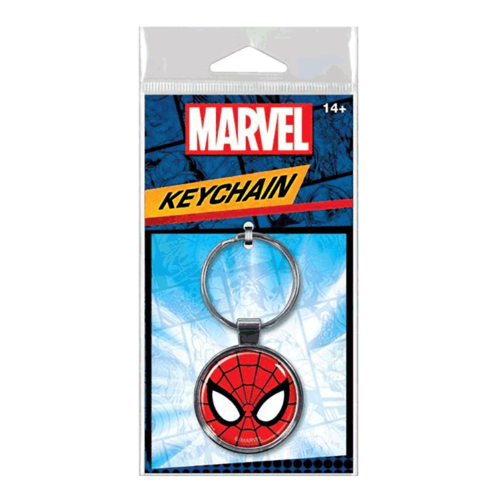 ATA-BOY KEYCHAIN: MARVEL - SPIDER-MAN FACE