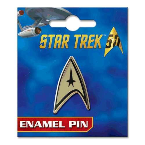 ATA-BOY PIN: STAR TREK - COMMAND INSIGNIA