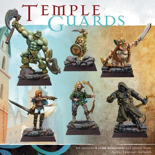 Spellcrow Miniatures MINIS: TEMPLE GUARDS
