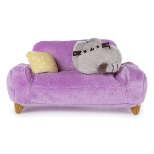 Gund PUSHEEN AT HOME COUCH COLLECTOR SET