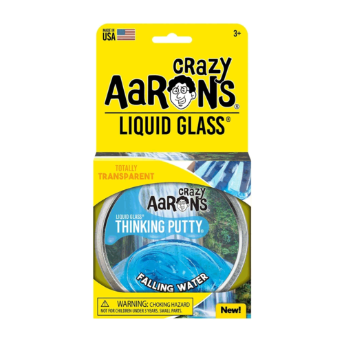 Crazy Aaron's Putty World THINKING PUTTY - LIQUID GLASS - FALLING WATER