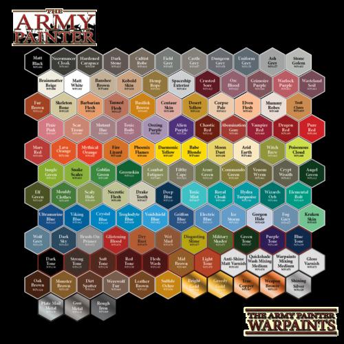 The Army Painter WARPAINT: MATTE BLACK