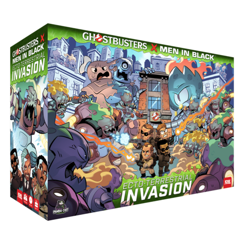 IDW Games GHOSTBUSTERS X MEN IN BLACK: ECTO-TERRESTIAL INVASION
