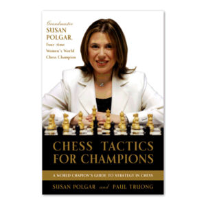 Random House Puzzles & Games CHESS TACTICS FOR CHAMPIONS