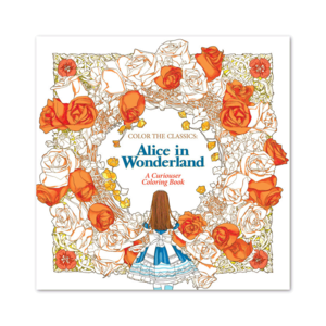 Waves of Color COLOR THE CLASSICS: ALICE IN WONDERLAND COLORING BOOK