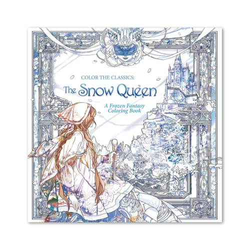 Waves of Color COLOR THE CLASSICS: THE SNOW QUEEN COLORING BOOK