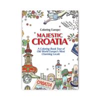 COLORING EUROPE: MAJESTIC CROATIA COLORING BOOK