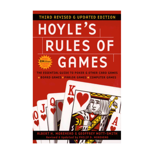 Plume HOYLE'S RULES OF GAMES, 3RD REVISED & UPDATED EDITION