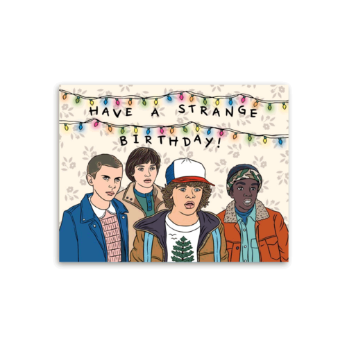 The Found STRANGER THINGS BIRTHDAY CARD