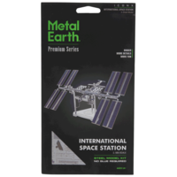 3D METAL EARTH INTERNATIONAL SPACE STATION
