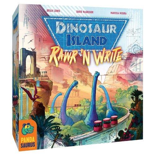 Pandasaurus Games DINOSAUR ISLAND: RAWR 'N WRITE