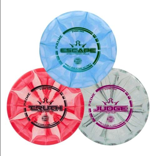 Dynamic Discs DISC GOLF SET (3) PRIME BURST