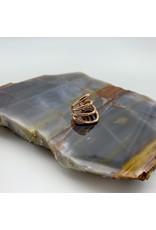 Tawapa Little Warrior ear cuff - rose gold plate