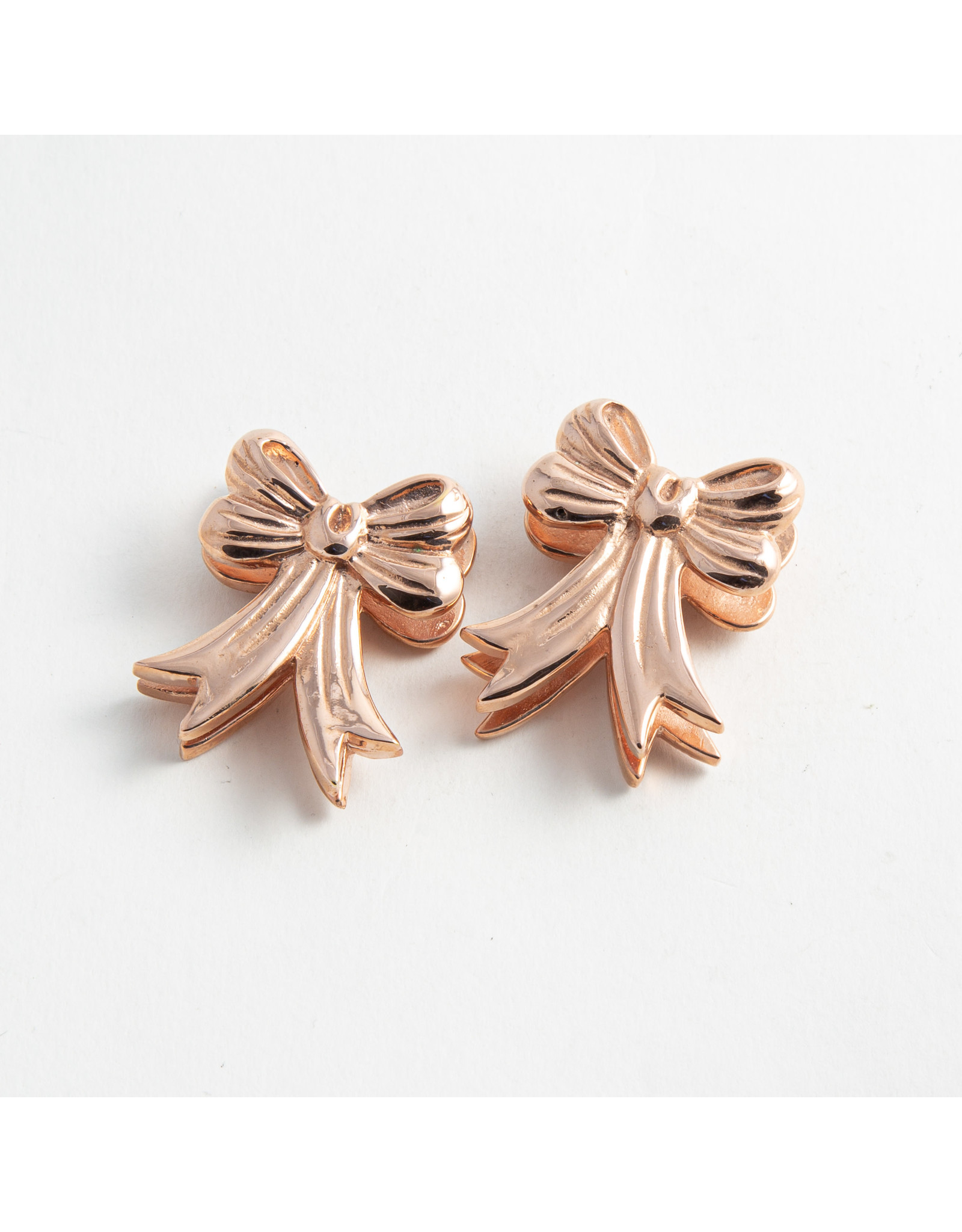 Buddha Jewelry Organics Buddha Jewelry Organics Rose Gold plate XL Bow Weights