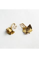 "Buddha Jewelry Organics Buddha  Jewelry Organics Brass ""Spangled"" hanging design"