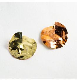 """Buddha Jewelry Organics BJO Small Brass & Copper """"Obscura"""""""