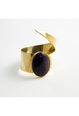 Buddha Jewelry Organics Buddha Jewelry Organics Brass & Fluorite cuff
