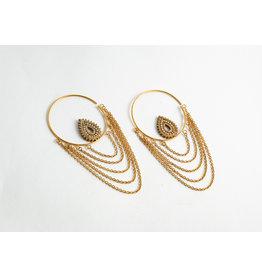 "Buddha Jewelry Organics BJO Yellow Gold Small ""Deity"""