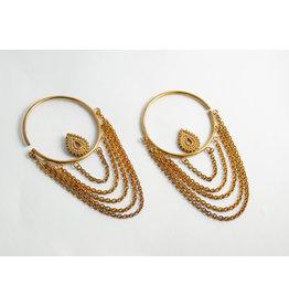 "Buddha Jewelry Organics BJO Yellow Gold Medium ""Deity"""