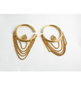 "Buddha Jewelry Organics BJO Yellow Gold Large ""Deity"""