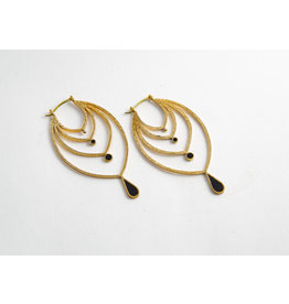 "Quetzalli jewelry Quetzalli Brass ""Shri"""