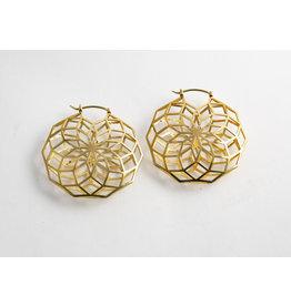 """Quetzalli jewelry Quetzalli Brass """"Glow"""""""