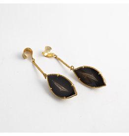 """Quetzalli jewelry Quetzalli Brass """"Seeds"""""""