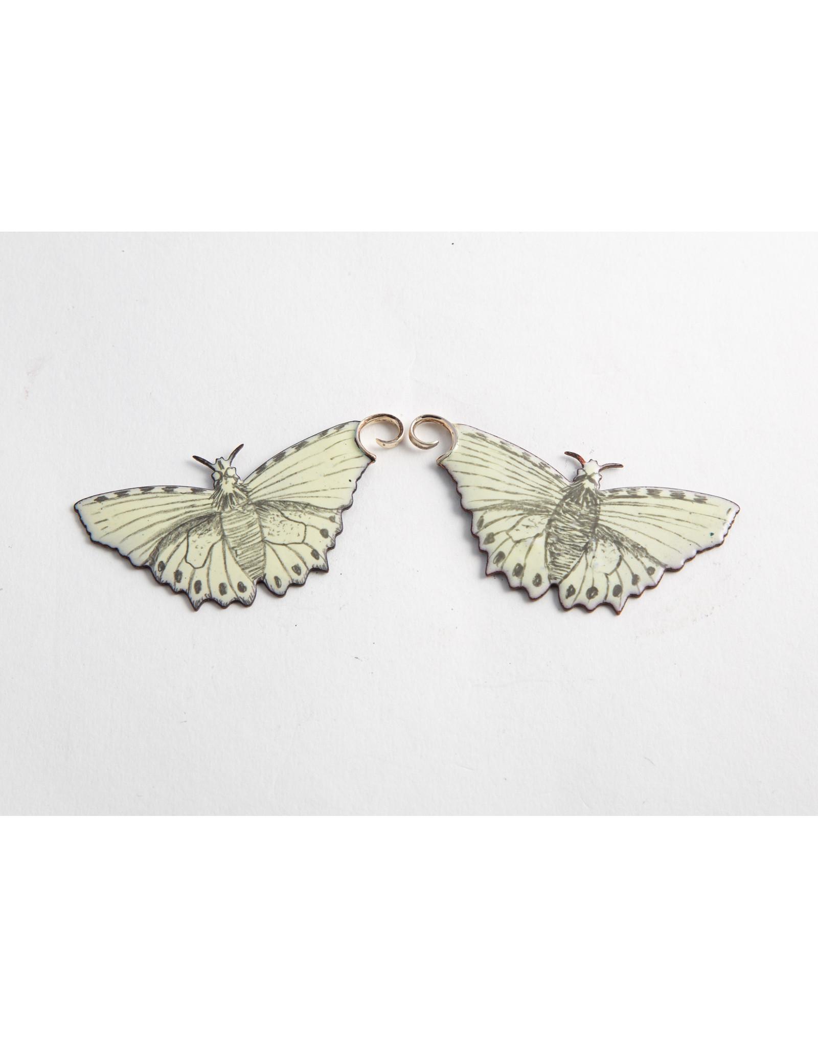 "Quetzalli jewelry Quetzalli copper & enamel ""Blessed Journey"" hanging design"