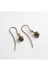 "Quetzalli jewelry Quetzalli brass ""Amapola"" poppy weight"