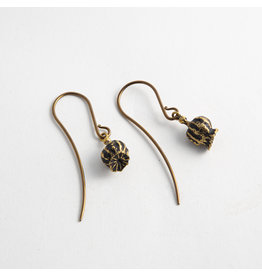 "Quetzalli jewelry Quetzalli Brass ""Amapola"""