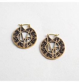 """Quetzalli jewelry Quetzalli Brass Small """"Love Magic"""""""