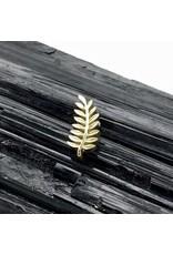 BVLA BVLA  yellow gold fern threaded end