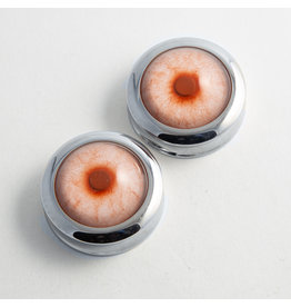 Reign Custom Design Reign 1-1/2 Steel Taxidermy Eye Plugs