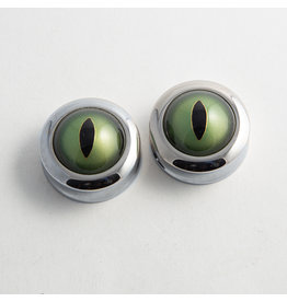 Reign Custom Design Reign 1-1/4 Steel Taxidermy Eye Plugs