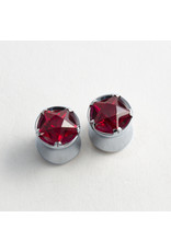 Reign Custom Design Reign 1/2 steel red star double flared plugs