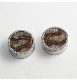 Reign Custom Design Reign 1-1/8 Steel Ammonite Plugs
