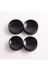 Gorilla Glass Gorilla Glass 1-1/2 Obsidian concave double flared plug