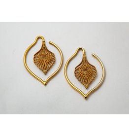"Maya Jewelry Maya Yellow Gold Plate ""Kavadi"""
